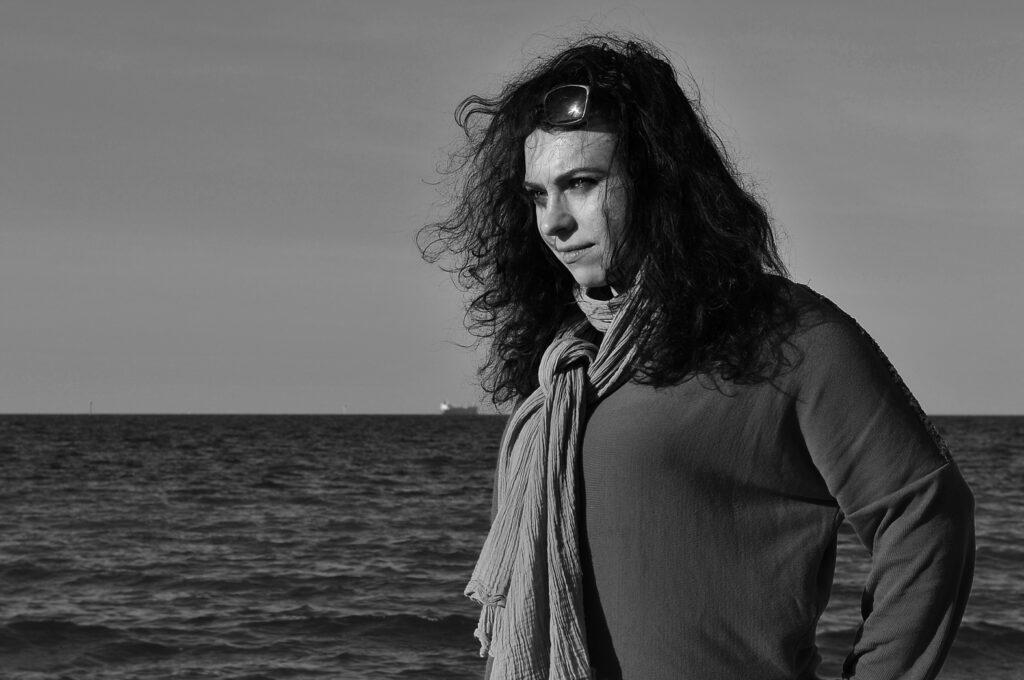 Adrianna Majdzińska - rzeźbiarka / foto: Kuba Karłowicz