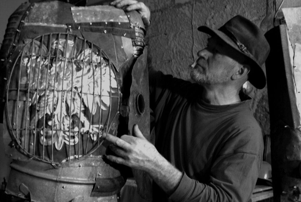 Czesław Podleśny - artysta rzeźbiarz