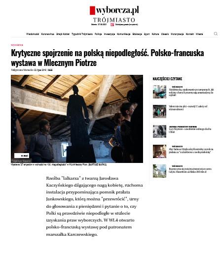 Polsko-francuska wystawa w Mlecznym Piotrze